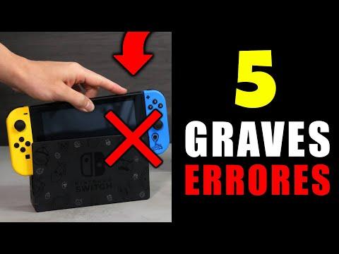 5 ERRORES que NO ❌ Debes Hacer al Comprar Una Nintendo SWITCH (yo lo hice mal) 😢
