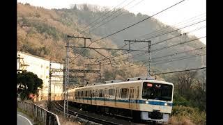 小田急8000形(VVVF化改造車) デハ8106形 新宿→(快速急行)→新松田