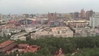 Вид на Урумчи с высоты птичьего полёта(Китай #Урумчи #Колесообозрения #парк #Хоншан #Хоншанпарк #видсвысотыптичеьгополета #красота #здания #природа., 2016-07-30T13:45:07.000Z)