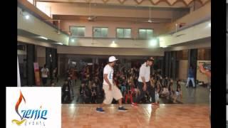 Dharmesh Sir dance Workshop in Solapur by Genie Events
