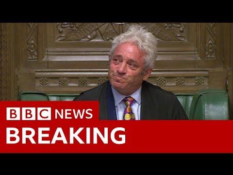 Commons Speaker Bercow