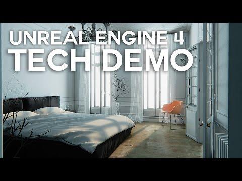 Unreal Paris   Grafica viitorului, Unreal Engine 4
