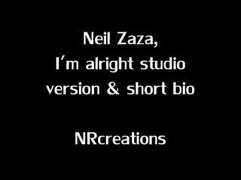 Neil Zaza - I'm alright, Studio version & bio