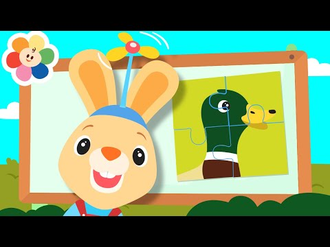 Baby Learning Games With Harry The Bunny & GooGoo   Learn Numbers & Animals With Fun Games For Kids