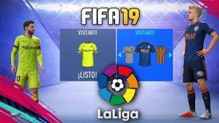 FIFA 19 | KITS & RATINGS LA LIGA SANTADER