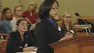 Ohio Mock Trial State Chionship Round 2001