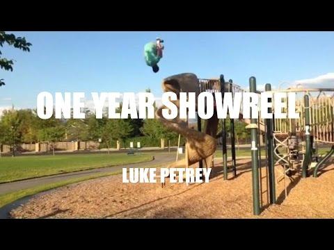 Luke Petrey- One Year of Freerunning Showreel- 2015-2016