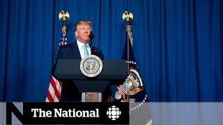 Trump tweets threat against Iran