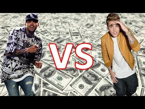 Who's Richer Chris Brown Or Justin Bieber 2017 [Chris & Justin Net Worth & Monthly income 2017]