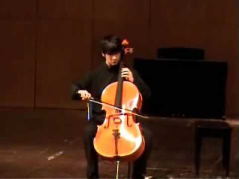 Bach: Cello Suite 2 (Prelude & Courante) - Davi Barreto