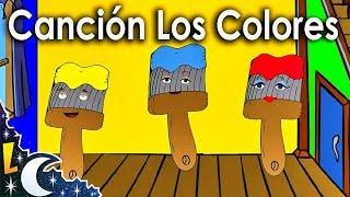 La Canción de los Colores para niños   Rondas Infantiles   Videos Educativos    Lunacreciente