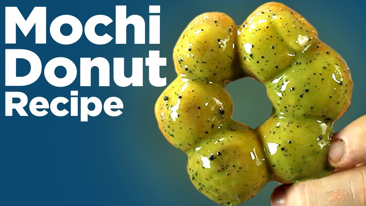 How To Make Mochi Doughnuts