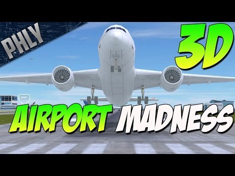AIRPORT MADNESS 3D- ATC Chaos (Airport Madness Gameplay)