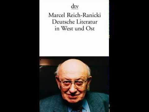 """Marcel Reich-Ranicki über sein Buch """"Deutsche Literatur in Ost und West""""  (1984)"""
