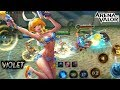 violet skin summer bash map pantai arena of valor aov