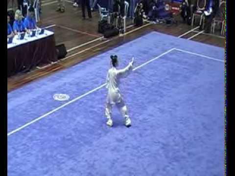 第十二届世界武术锦标赛 - 女子太极拳 - 内田爱(宫冈爱)