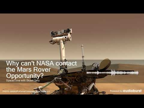 Why can't NASA contact the Mars Rover Opportunity?