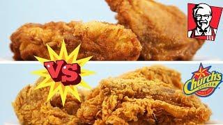 POLLO KFC vs CHURCH'S | ¿CUAL POLLO FRITO ES MEJOR?