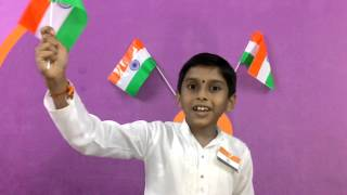 Patriotic short song telugu by viswa prateek on independance day NBPS paloncha