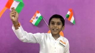 Patriotic short song telugu by viswa prateek on independance day NBPS paloncha