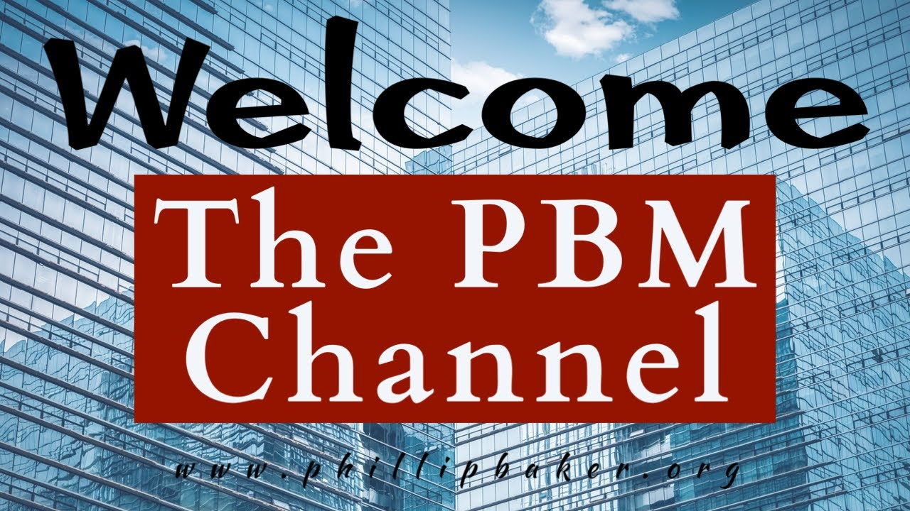 Welcome to the Channel of Phillip Baker Ministries!