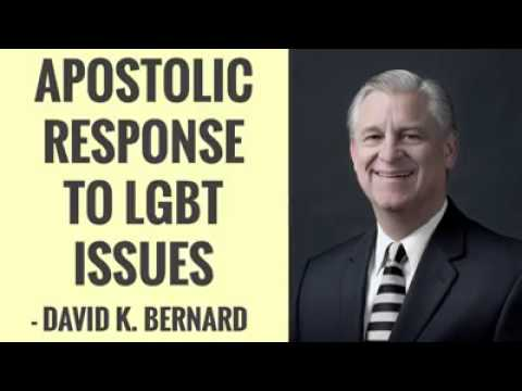 David K. Bernard on Homosexuality