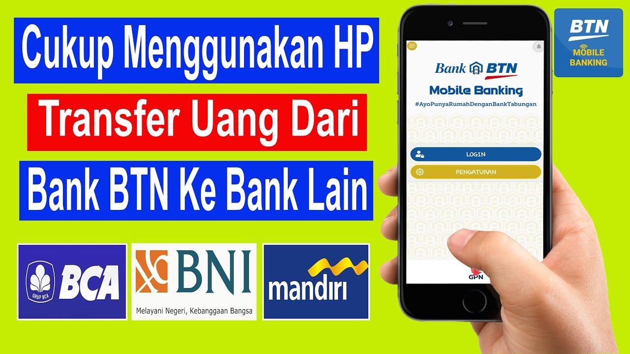 cara transfer btn mobile ke bank lain