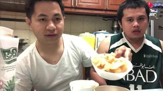 Eating Streetfood at Home - Bedats Lifestyle - Joni and Angelo Chicharon and Penoy Egg