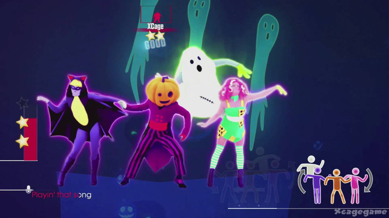 just dance 2017 ghost in the keys halloween thrills gameplay youtube