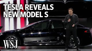 Tesla Revamps High-End Sedan With Model S Plaid | WSJ