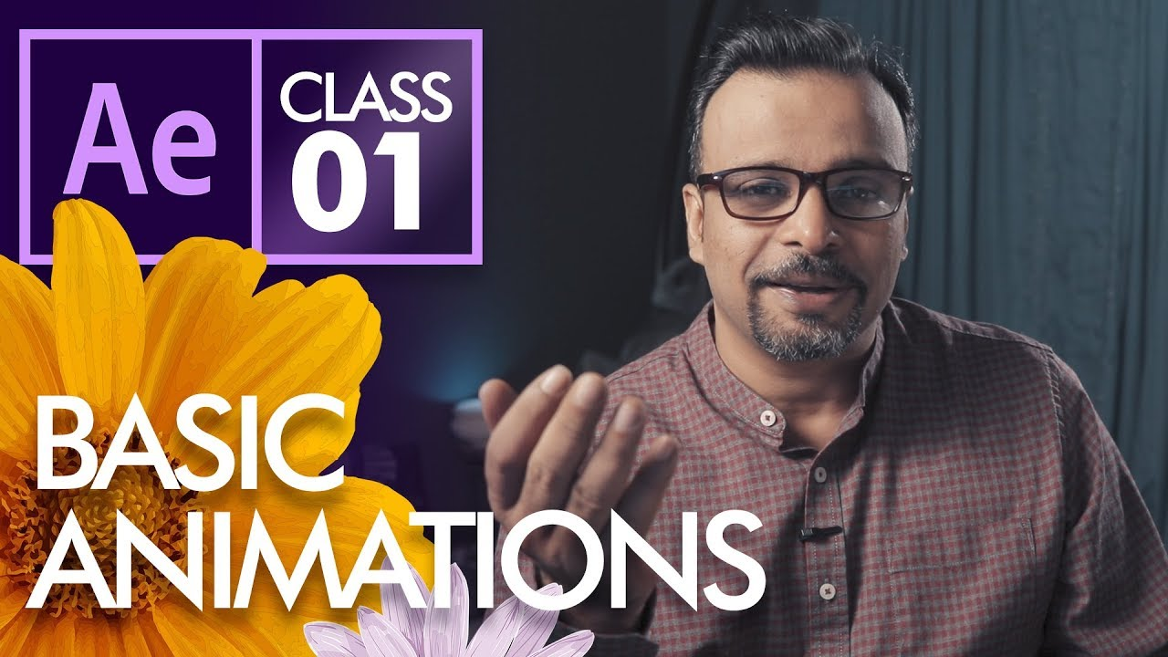 Basic Animations in After Effects  - Urdu Hindi - YouTube
