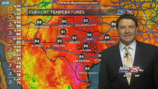 kxxv tv newschannel 25 at 6 00 p m weather open with new graphics 09 19 16