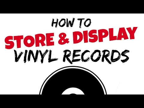How to store and display vinyl records | Tips and tricks (Vinyl Community)