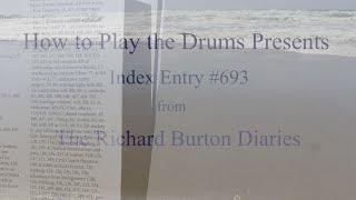 Index Entry: Taylor, Elizabeth. From the Richard Burton Diaries.