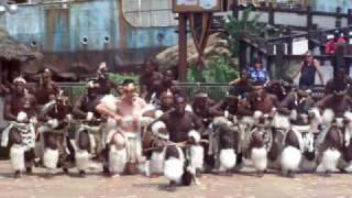 Traditional African Dance 2 MEN   Ushaka   Durban