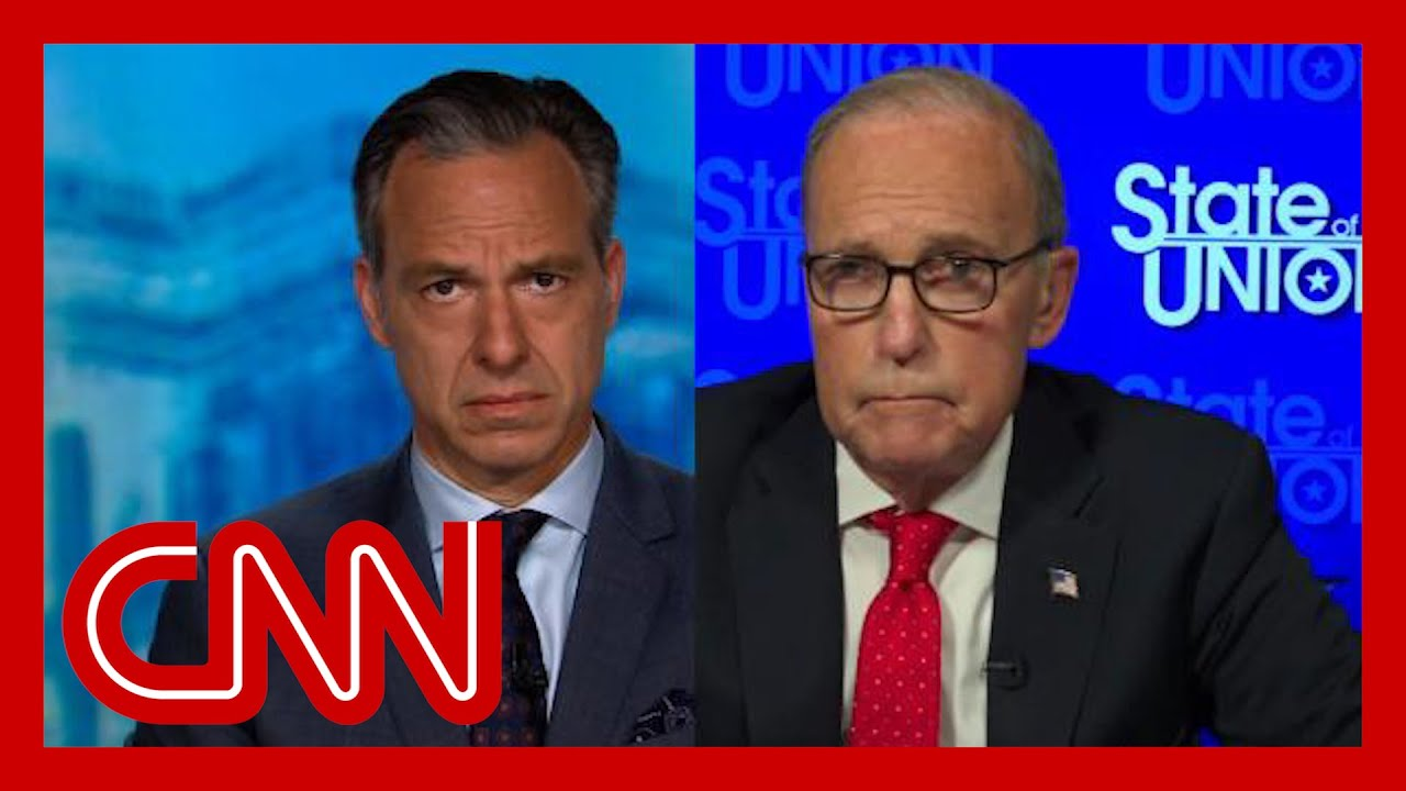 Tapper to Kudlow: This is as swampy as I can imagine
