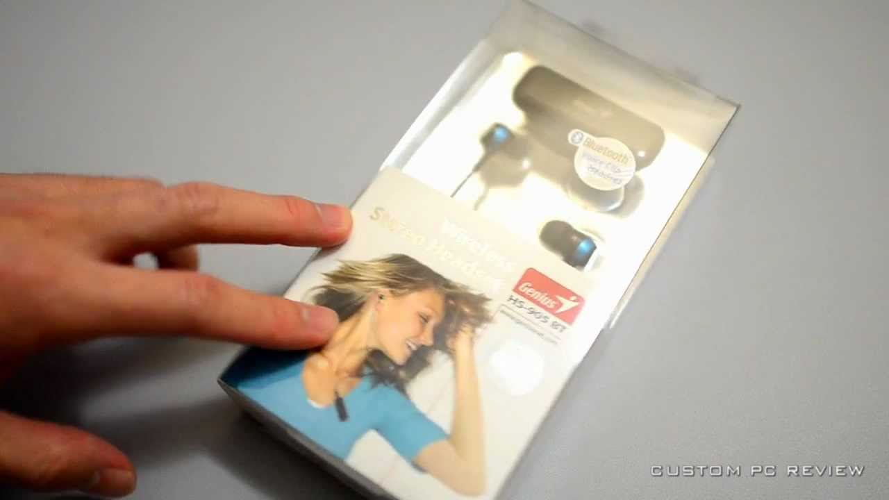 unboxing genius hs 905bt bluetooth headset youtube. Black Bedroom Furniture Sets. Home Design Ideas