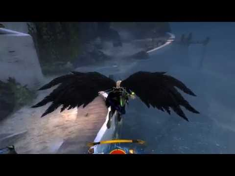 Guild Wars 2 in Virtual Desktop on Oculus Rift CV1