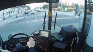 138-as Busz BKV  Ikarus Ik280  (Cockpit View)  Budapest. 2017.