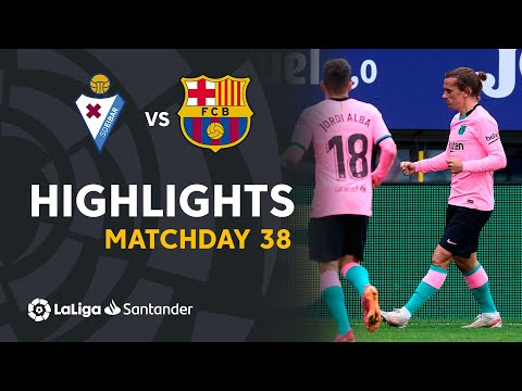 Eibar Barcelona Goals And Highlights