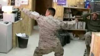 Walk It out Video In Iraq