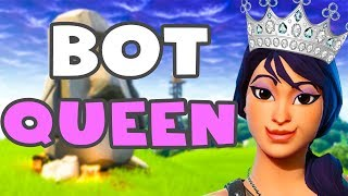 THE BIGGEST DEFAULT BOT IN FORTNITE HISTORY | Fortnite Battle Royale