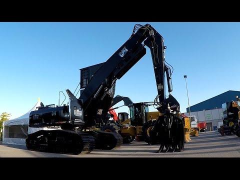 2016 ILA LOGGING TRADE SHOW -- 2016 Forestry Equipment & Accessories. CAT, Volvo, Hyundai, Hitachi