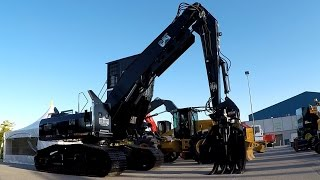 2016 ILA LOGGING TRADE SHOW -- 2016 Forestry Equipment & Accessories. CAT, Volvo, Hyundai, Hitachi