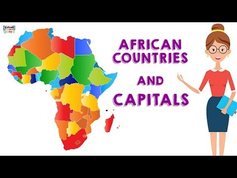 Learn All the African Countries And Their Capitals | Geograp