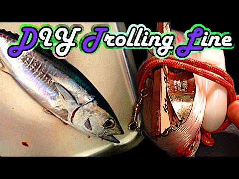Trolling Fish - Build Your Own Trolling Line - Boat Fishing - Tutorial