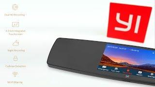 Обзор YI Mirror Dash Camera - зеркало видеорегистратор с двумя камерами