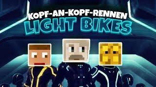 Spannendes Finale - MCExpert vs. Bergmann ★ Light Bikes | Herr Bergmann