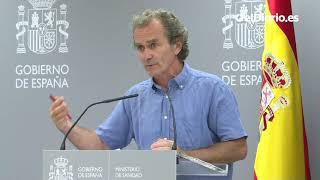 """Simón rechaza polemizar con Madrid, pero recalca: """"Los datos de asintomáticos son los que son"""""""