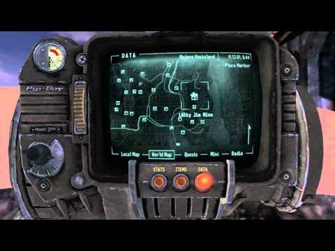 Fallout: New Vegas Speech Book Location - Lucky Jim Mine